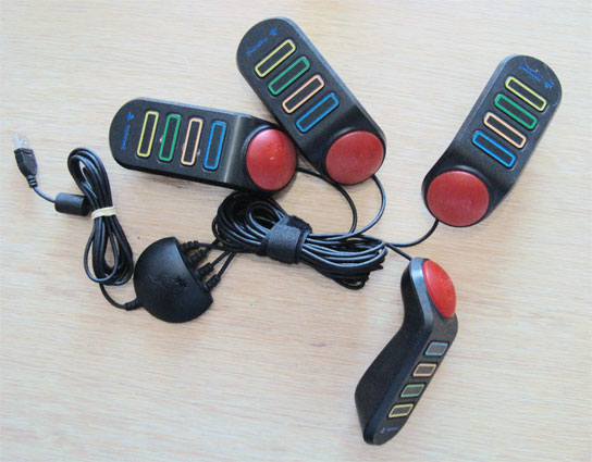 Buzzer for PlayStation 2
